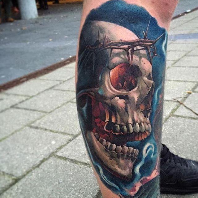 70 images of cranium tattoos