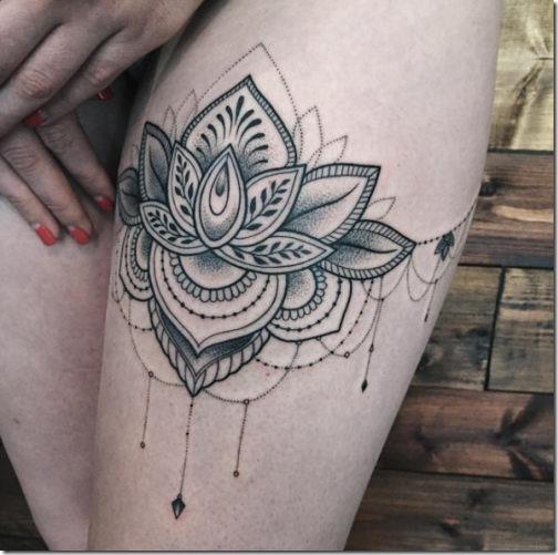 50+ Wonderful Lotus Flower Tattoo Designs