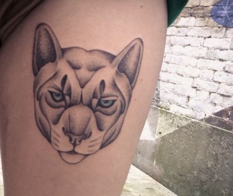 Puma tattoos and their meanings