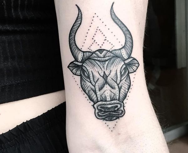 Taurus Tattoo Designs With Meanings 34 Concepts border=