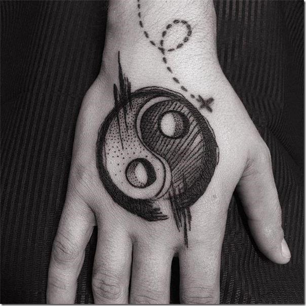 Yin Yang Tattoo Dark Skin: 65 Wonderful Yin Yang Tattoo Recommendations » Nexttattoos