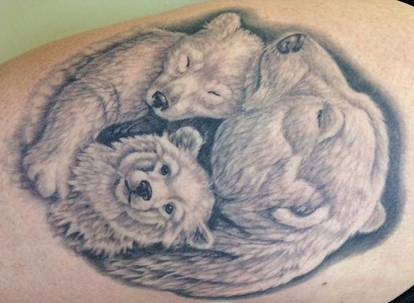 polar bear tattoo meaning