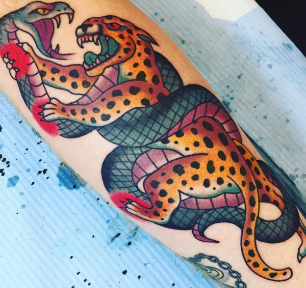 Leopard tattoos and their meanings