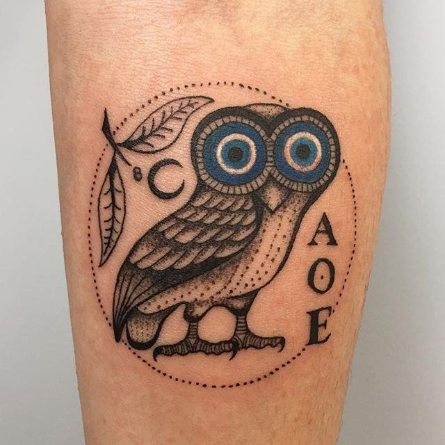 55 Greek Eye Tattoos
