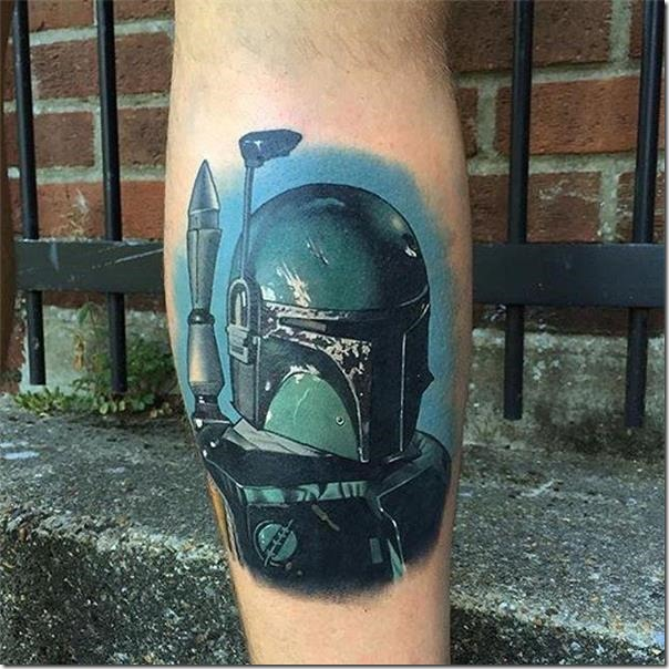 Males's Tattoos on the Leg (finest pictures!)