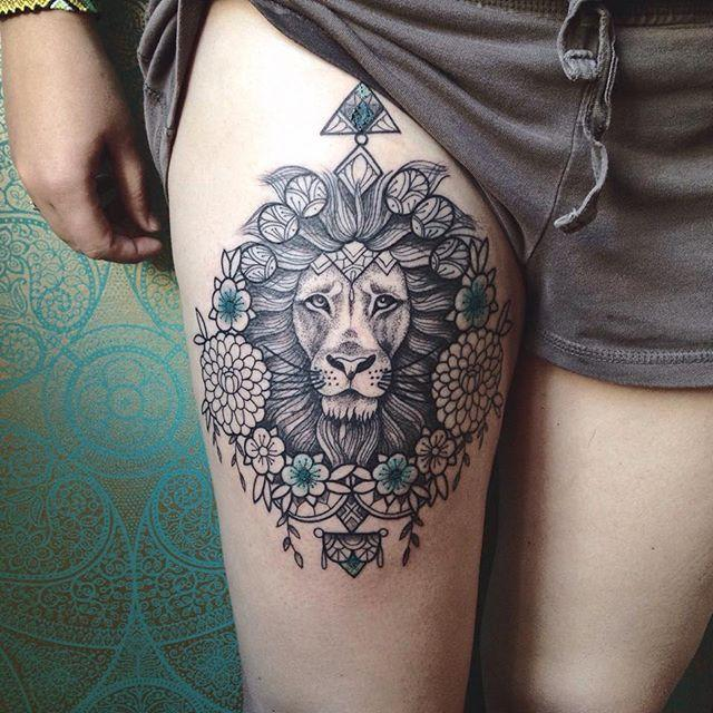 65 Superior Lion Tattoos For Animal Followers Nexttattoos