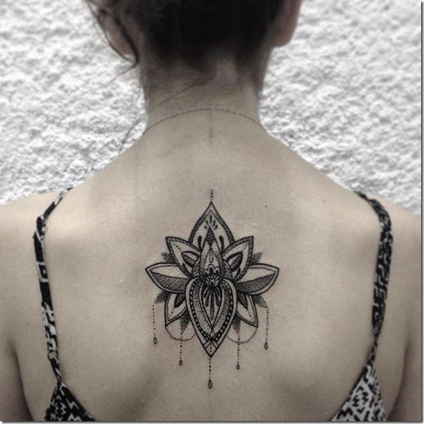 Stunning and provoking lotus flower tattoos