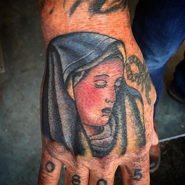 65 Tattoos of the Virgin Mary