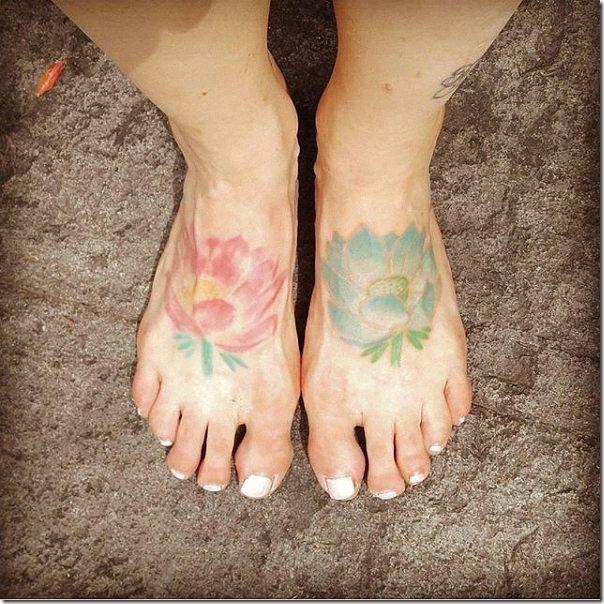Stunning and provoking lotus flower tattoos