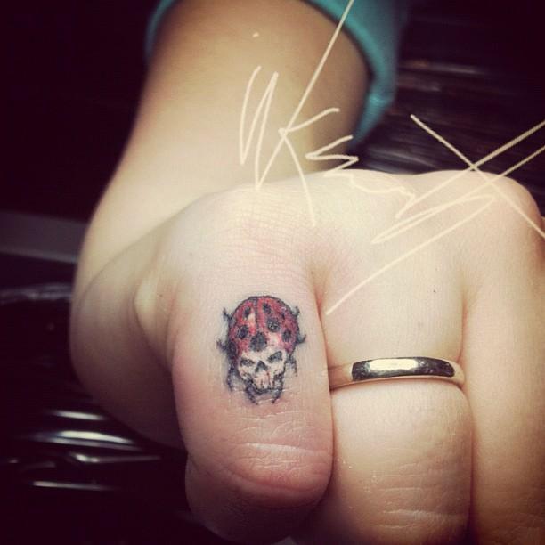 50 Tattoos of Ladybugs
