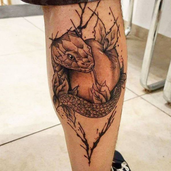 Apple Tattoo Designs with Meanings - 20 Concepts