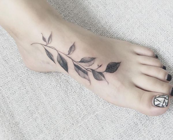 Leaves Tattoo Designs With Meanings 30 Concepts Nexttattoos