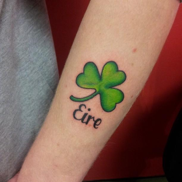 Female irish tattoos #15