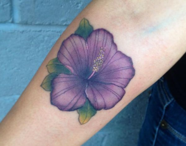 Hibiscus Tattoo Designs with meanings - 15 concepts