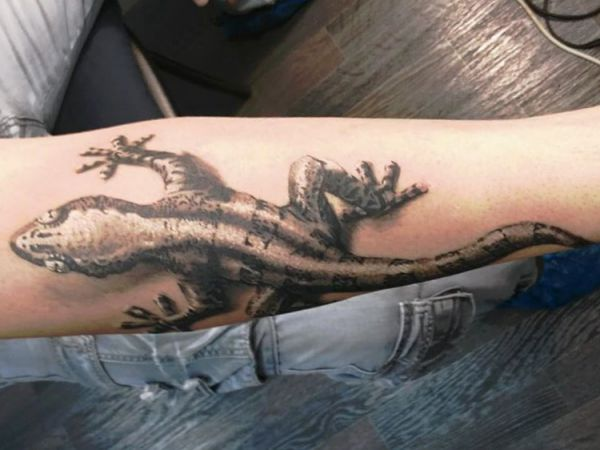 Lizards Tattoo - Its Which means and 18 Concepts
