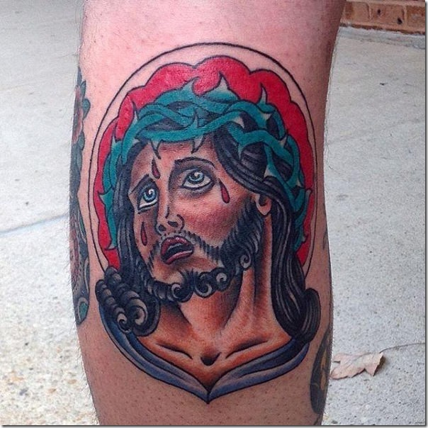 Tattoos of Jesus Christ