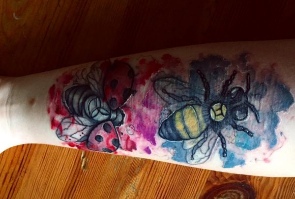18 cute ladybug tattoo concepts - footage and which means