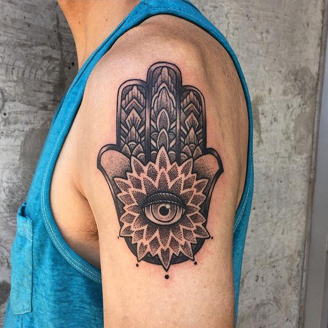 65 Tattoos of Hamsa