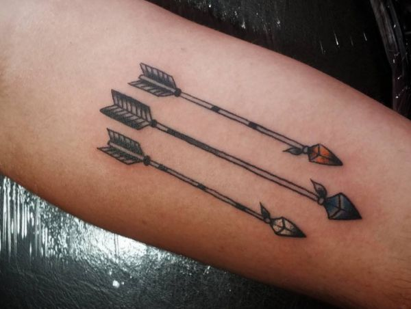 Arrow Tattoo Designs with Meanings - 35 Concepts