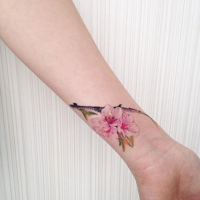 60 Cherry Blossom Tattoos Nexttattoos