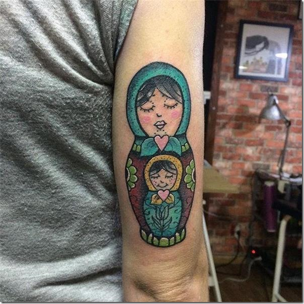 Russian Doll Tattoo Matrioska - Spectacular Photographs