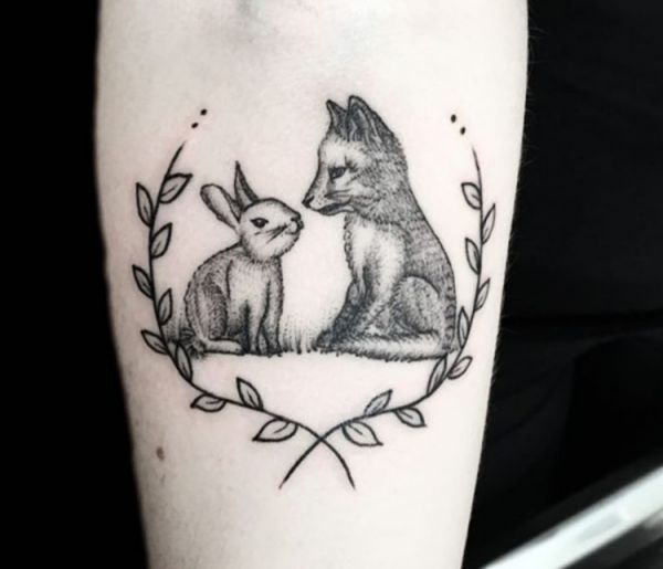 20 Rabbit Tattoo Concepts: Photos and Meanings