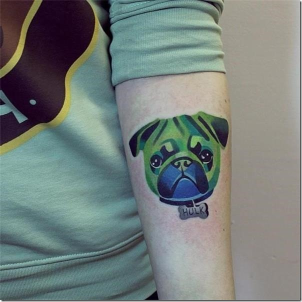Tattoos for canine lovers