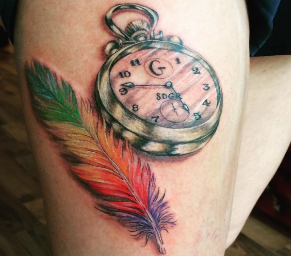 Feather Tattoos: Designs, Concepts and Meanings
