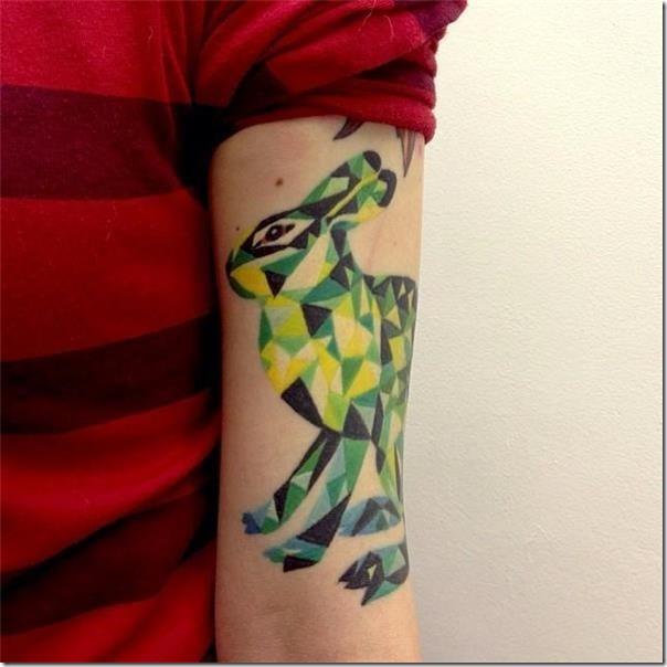 Stunning and galvanizing rabbit tattoos
