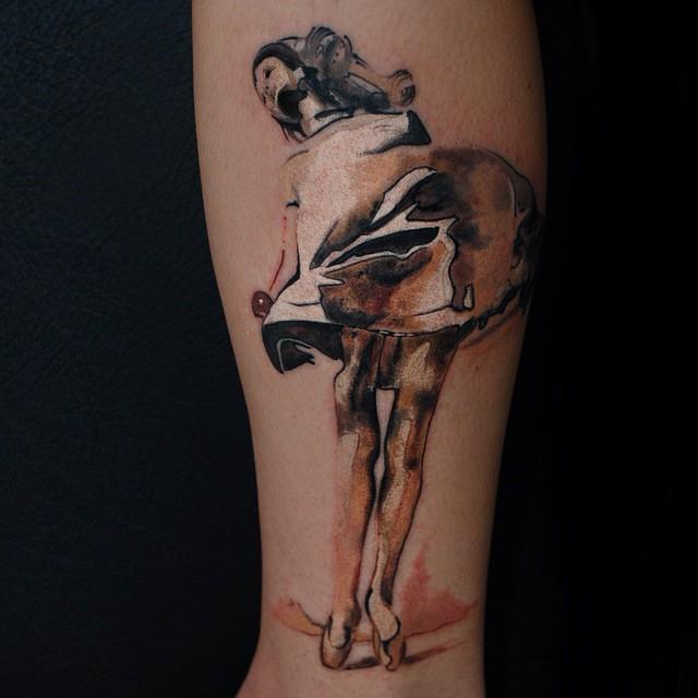 60 Ballerina Tattoos