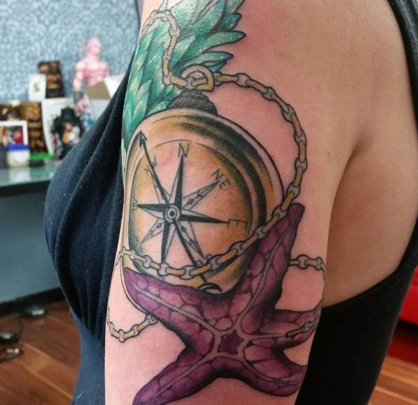 Starfish tattoo designs and concepts with which means