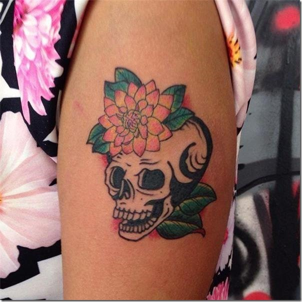 Photos of cranium tattoos