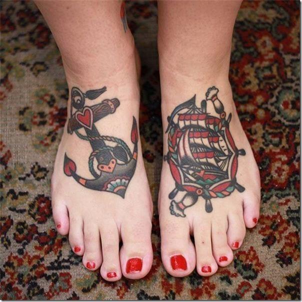 Stunning anchor tattoos