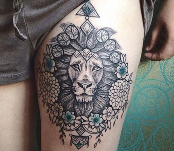 Lion tattoos and their meanings