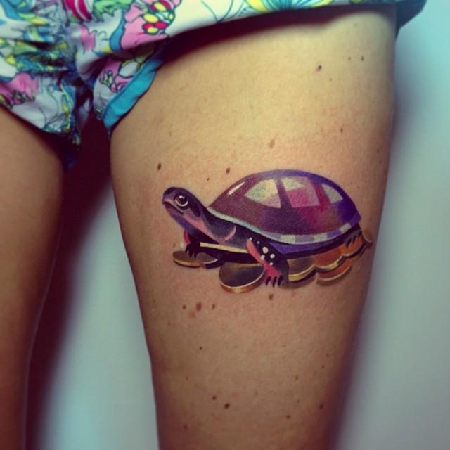 65 Turtle Tattoos