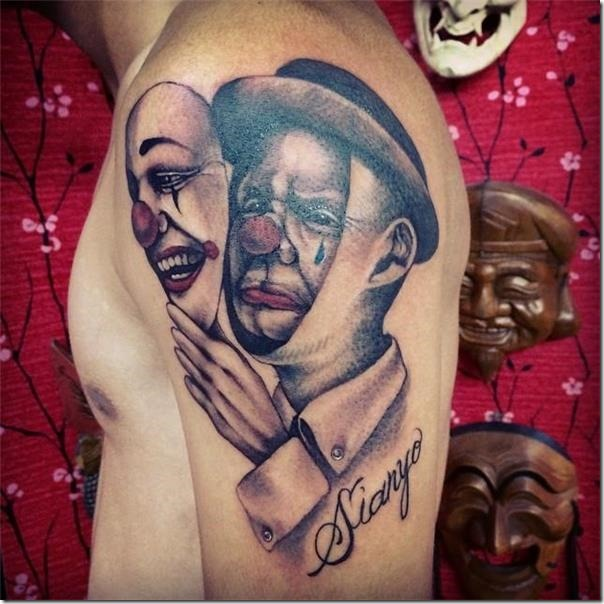 Tattoos of Inspiring and Artistic Males