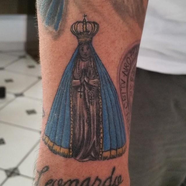 60 Tattoos Of Our Woman Aparecida For Individuals Who Have