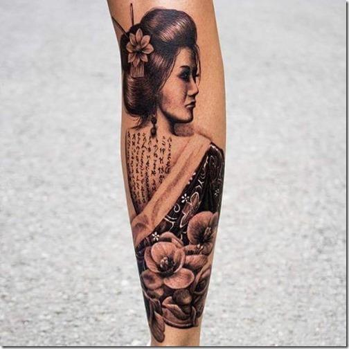Beautiful And Inspiring Geisha Tattoos Nexttattoos