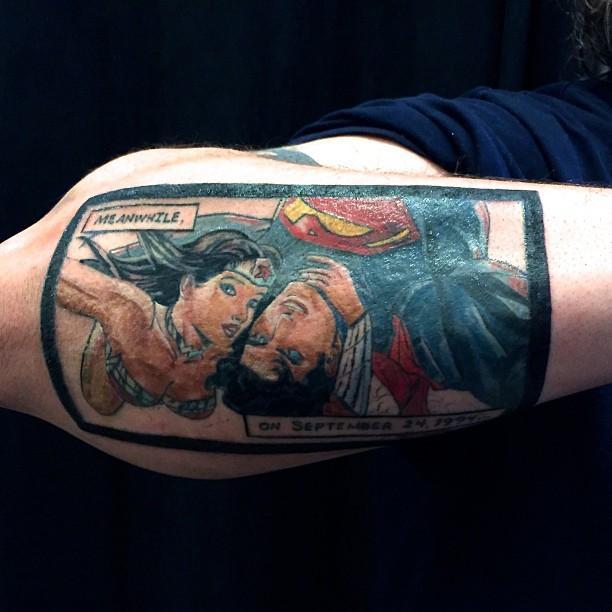 60 Superman Tattoos Nexttattoos