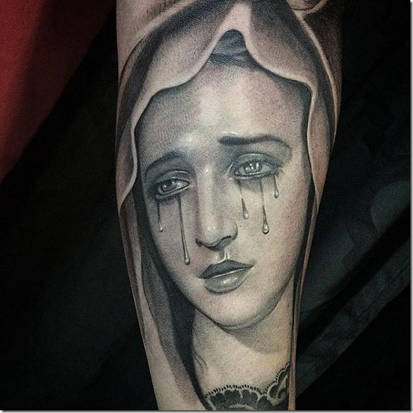 Tattoos of the Virgin Mary