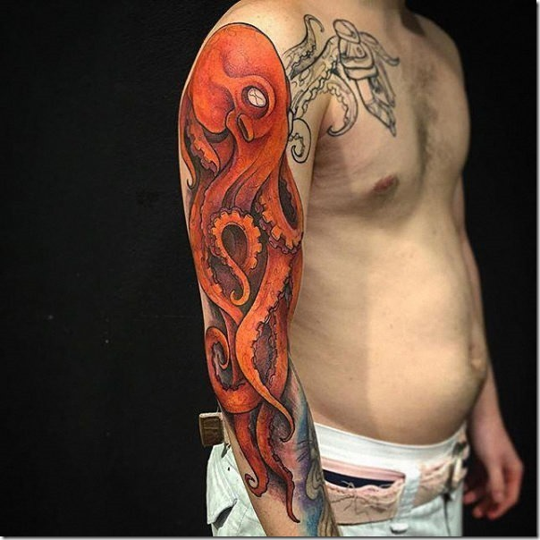 Superior octopus tattoos - pictures