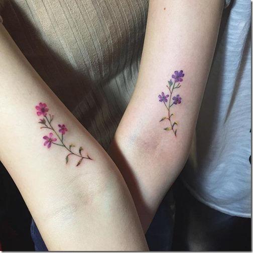 Cute and galvanizing friendship tattoos