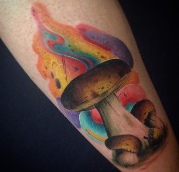 Mushroom Tattoos: 20 concepts with which means