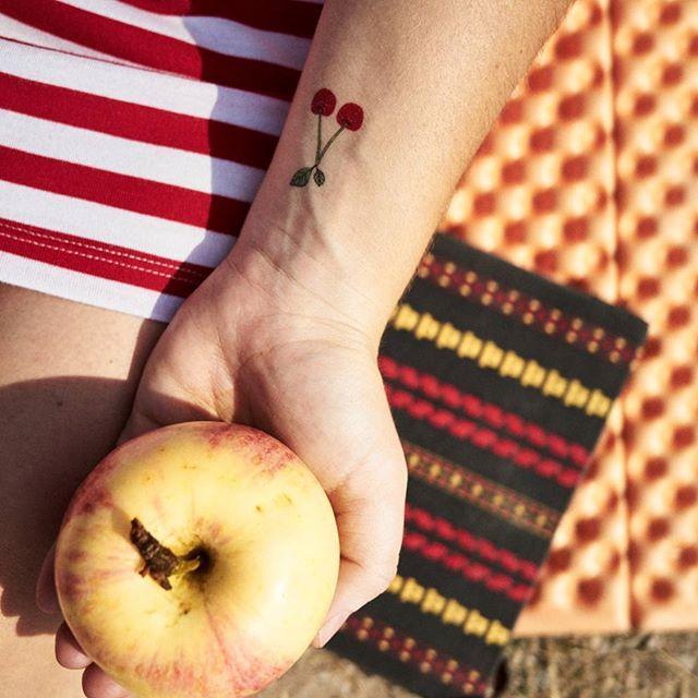 60 Wonderful and Inspiring Cherry Tattoos