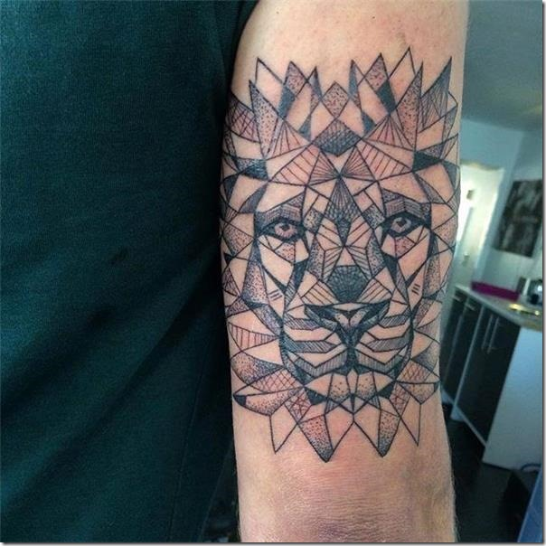 Superior lion tattoos for animal lovers