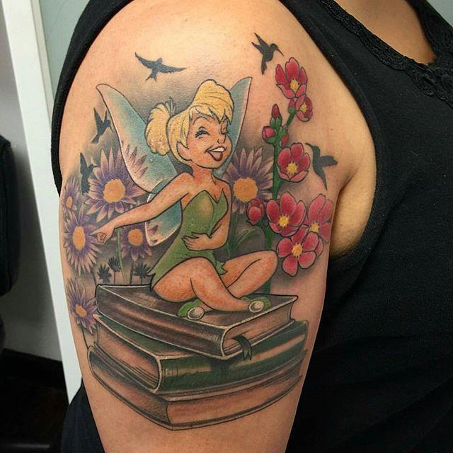 50 Fairy Tattoos Tinkerbell
