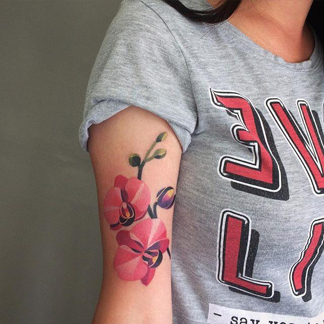 130 Feminine Tattoos on Arm