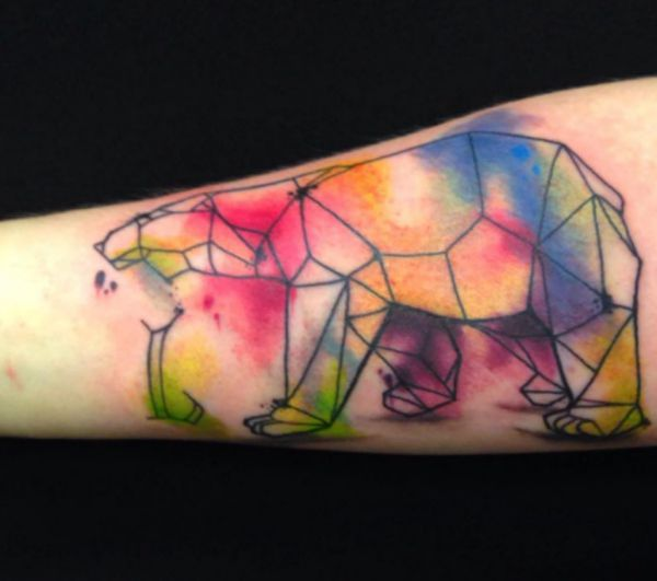 Polar Bear Tattoo Designs with meanings - 15 concepts