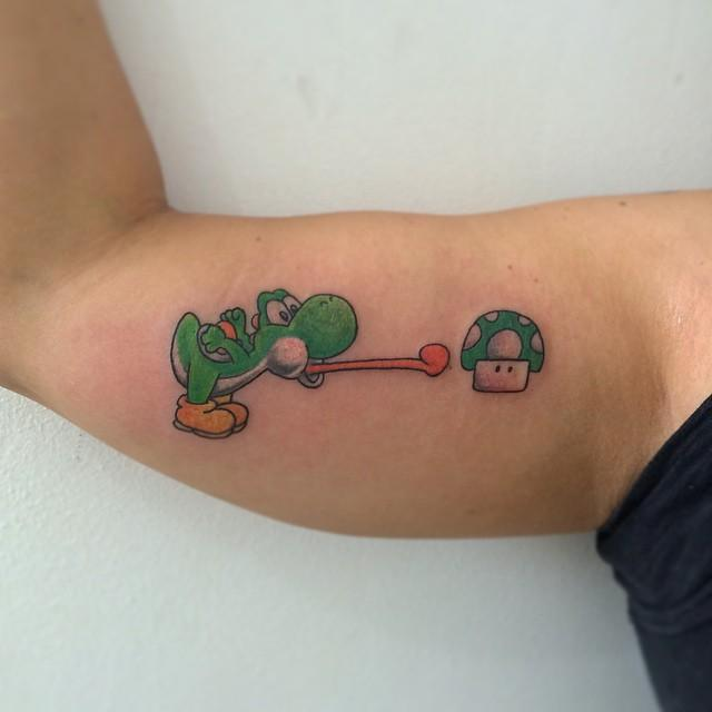 70 Tremendous Mario Bros Tattoos
