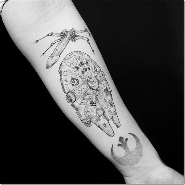 Star Wars Tattoos Unbelievable Images Nexttattoos